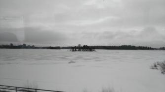 Ein zurgefrorener See