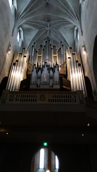 Wieder eine tolle Orgel