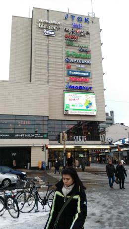 Ein großes Einkaufszentrum