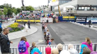 Und auch Ole Einar war tatsächlich da.