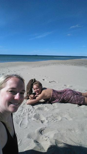 Wir hatten den Strand quasi für uns alleine