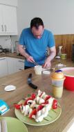 Vorbereitungen fürs Grillen
