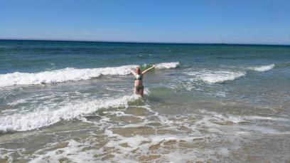 Spaß im Meer