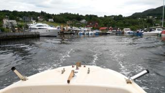 1. gemeinsame Fahrt mit UNSEREM Boot