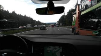 Deutsche Autobahnen - da kommt man auch gleich schneller vorwärts