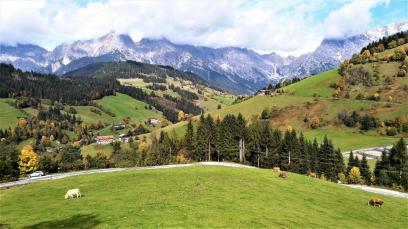 Aussicht vom Hüttendorf