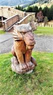 Sehr viele schöne Skulpturen gibt es hier!