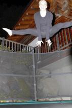 Das Trampolin hätte ich gerne im Garten bei uns zuhause!