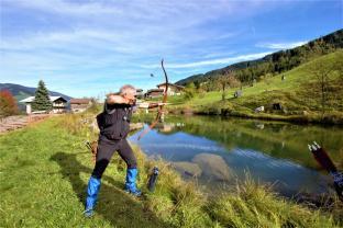 Schuss über den Teich