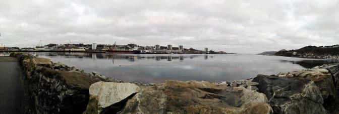 Das ist der Fjord in Sandnes. Hab heute in Sandnes gearbeitet