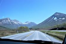 Ich mag die norwegische Landschaft