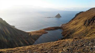 Die Vogelinsel von der anderen Seite